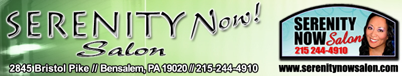 Serenity Now Salon Bensalem PA Website Banner master